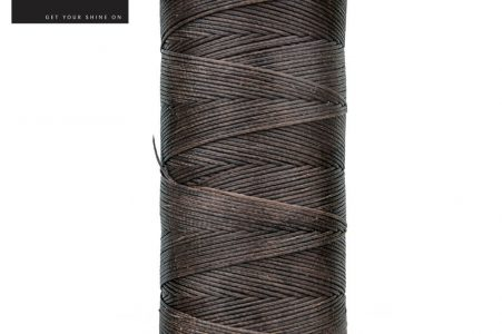 Flat Waxed Plaiting Thread Brown