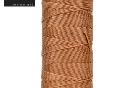 Flat waxed Plaiting Thread Chestnut