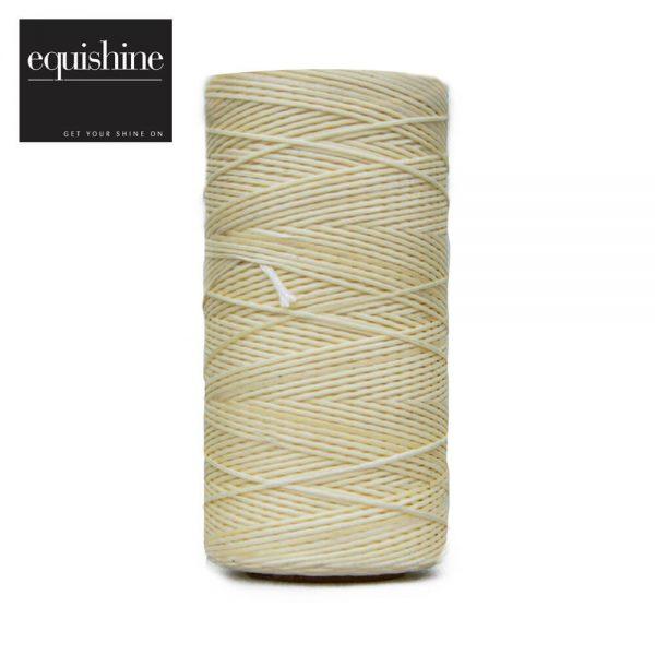 Flat Waxed Plaiting Thread Cream